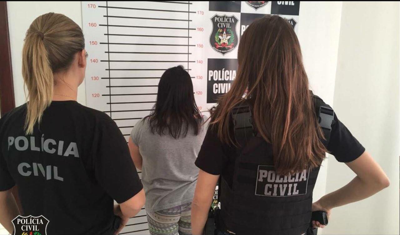 Resultado de imagem para Polícia Civil prende mulher